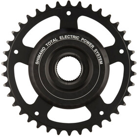 Shimano Steps SM-CRE60 Chainring without chain guard anthracite/silver
